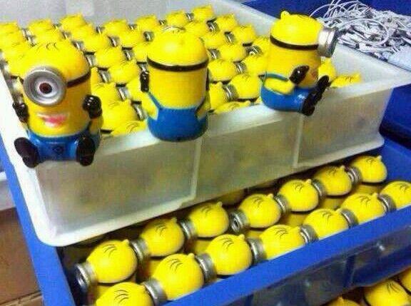 Cute Minion Power bank-Shipping  In Few Hours