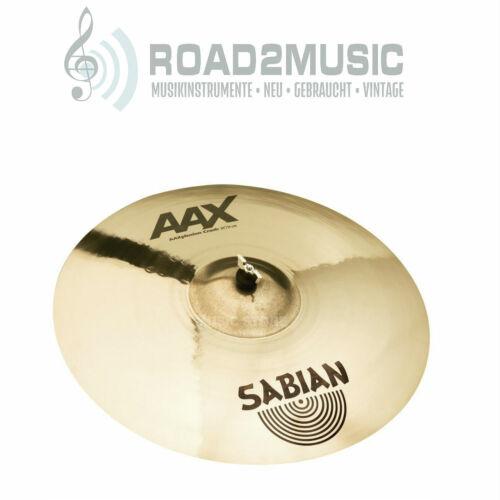 """Sabian AAX plosion 20/"""" Crash Brilliant Becken Drums Schlagzeug   *TOPDEAL*"""