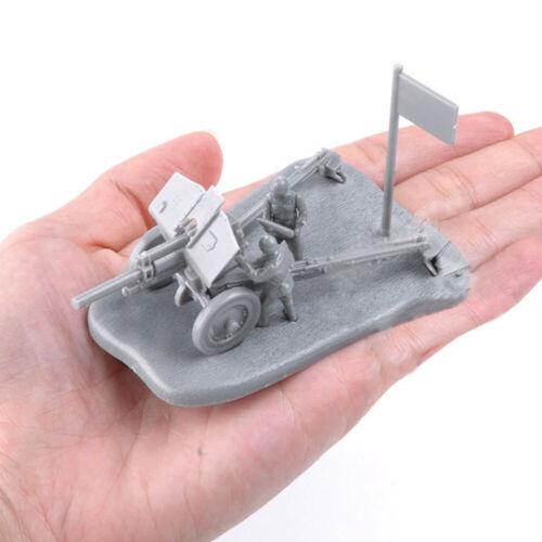 1:72 PAK40 M30 MODELLO DI ASSIEME cannone arma Scena Puzzle Mattoni Giocattolo