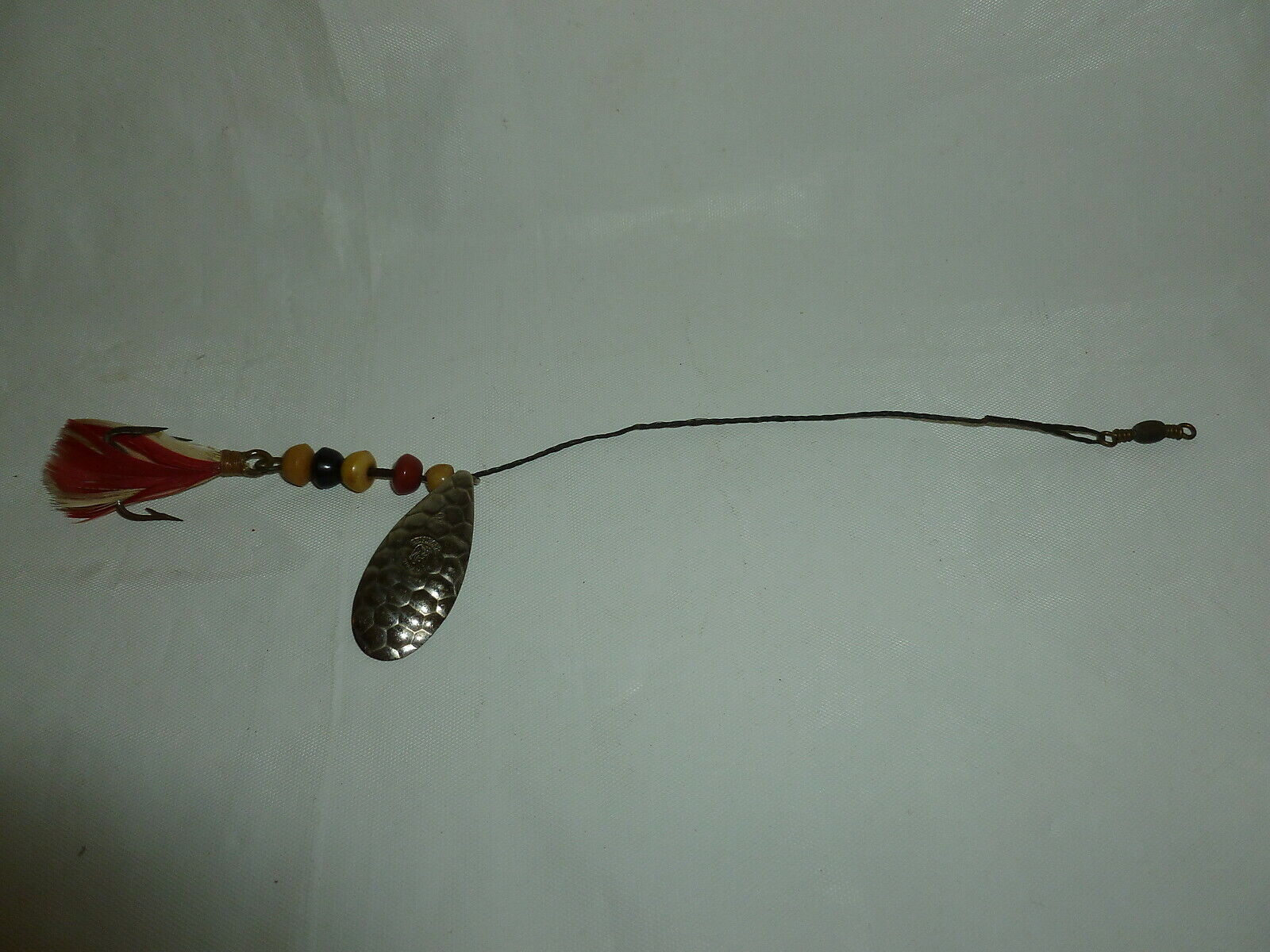 Vintage Very Early Beaded Pflueger Wire Fishing Spinner  Lot X-235