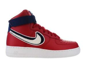 ad31b28e010cd Mens Nike Air Force 1 High  07 LV8 Gym Red White Blue Varsity 806403 ...