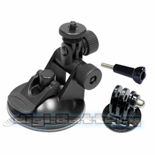 Refuelergy Mini Suction Car Mount Adapter+Tripod Adapter For GoPro Hero2 3 3 4