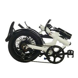 FOLDING ELECTRIC BIKES E-BIKE LIGHTWEIGHT EBIKE BICYCLE FREE ELECTRIC BIKE BAG!