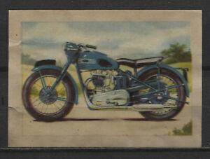 Triumph-Tiger-100-1951-Vintage-1950s-Dutch-Trading-Card-No-262