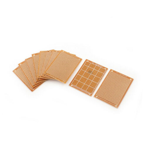 5Pcs 5 x 7 cm DIY Prototype Paper PCB Universal Board New