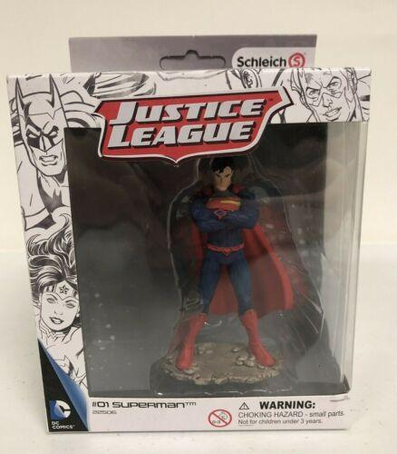 Schleich Justice League Action Figure #01 Superman #22506 Hand Painted NIB