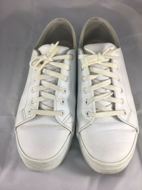 b6bc8cef8a0 Keds Women s Size 8.5 White Slip On Gym Shoes   Sneakers WH-01059W ...