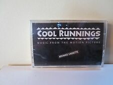 Cool Runnings (SEALED ADVANCE Cassette) Hans Zimmer, Jimmy Cliff, Wailing Souls