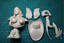 Unpainted Kit 1//10 ANNE high 11cm bust pirate woman bust figure Historical WWII