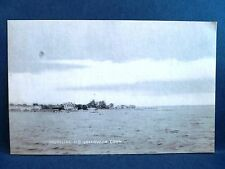 Postcard CT Old Greenwich Shoreline