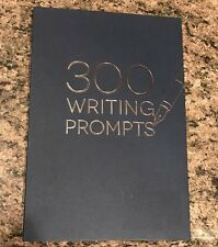 300 WRITING PROMPTS  BLUE BOOK - BRAND NEW! - The Real Thing!!!  MINTY FRESH!!