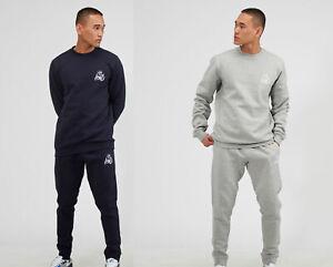 Kings-Will-Dream-KWD-Mens-New-Tracksuit-Top-Sweatshirt-Joggers-Crosby-Navy-Grey