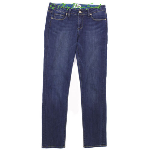 Denim Jeans Paige 27 taglia Skinny Cavigliera Blu Ultra Skyline scuro Hoxton B41 dAxq6