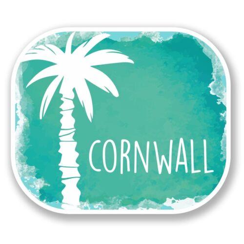 2 x Cornwall Cornish Vinyl Sticker Laptop Travel Luggage Car #6494