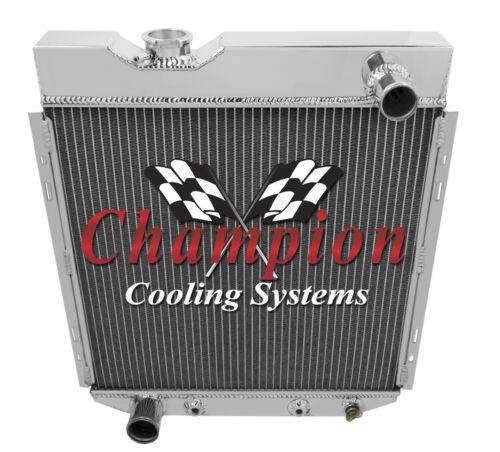 "V8 Conv 1963-65 Ford Falcon 2 Row 1/"" Tubes Core Alliant Radiator"