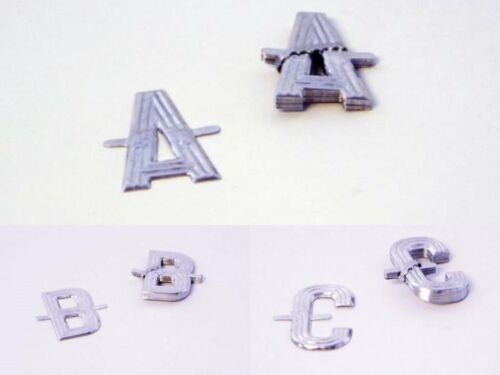 10 ALUMINIUM SILVER LETTERS FOR FUNERAL TRIBUTES SPELL ANY NAME OR MESSAGE-OASIS
