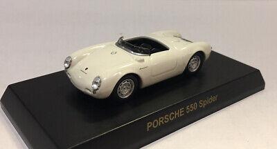 1//64 Kyosho PORSCHE 550 SPIDER WHITE diecast car model