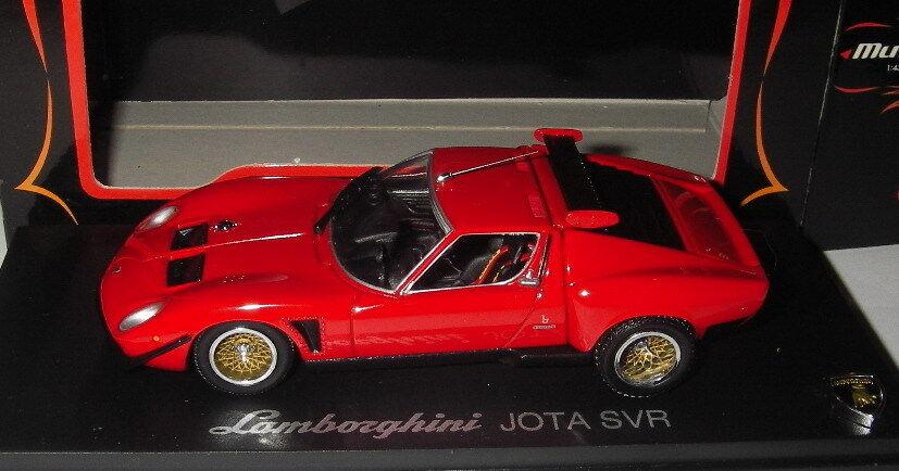 Las ventas en línea ahorran un 70%. Kyosho 1 43 - Lamborghini Jota Jota Jota SVR - rojo - MIB  tienda