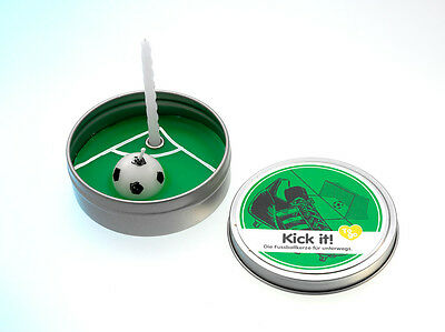 Donkey Products Kerze to Go Paraffin Fussball (Kick It) - B-Ware