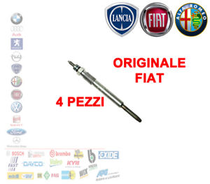 KIT-4-PEZZI-CANDELETTA-MOTORI-FIAT-1-3-MULTIJET-ORIGINALE-FIAT-46796050