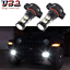 thumbnail 1 - 2504 PSX24W White LED Fog Driving Light Bulbs For Jeep Wrangler JL 2010-2020