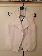 Sportmax Code NEW white sporty vest jacket £235 UK 8/10
