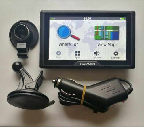 último velocidad CAM Garmin Drive 40LM GPS SAT NAV Reino Unido e Irlanda De Por Vida Mapa