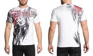 Xtreme-Couture-Men-039-s-Ravenous-Tee-Shirt-White
