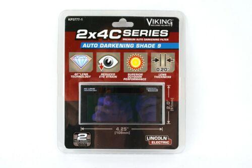 Auto Darkening Shade 9 OEM Lincoln Viking Welding Helmet Lens Filter BW2799
