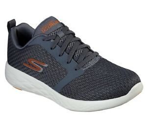 Details about SKECHERS GO RUN 600 CIRCULATE 55098/CCOR Charcoal Orange Sneakers Uomo Man