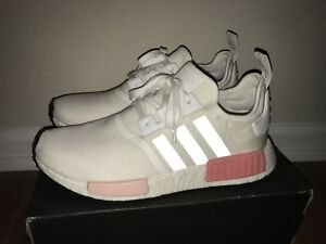 Details about Adidas NMD R1 White Pink BY9952 Women s Size 10 2017 Release  Running Yeezy Boost 3b1141cdbe