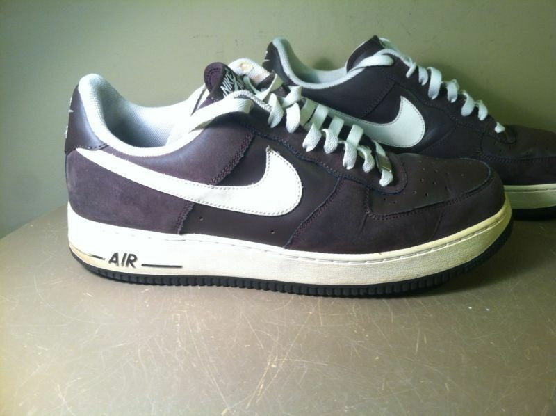 315122-212 Nike Air Men's Basketball shoes Brown w White Air Force 1 '82 Size 12