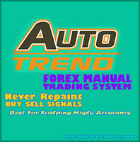 Auto Trend Forex Trading System Best Mt4 Trend Strategy Forex Indicator