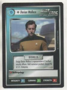 "Star Trek TNG CCG Federation COMMON Card ""Darian Wallace"""