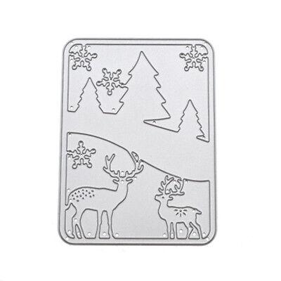 Deers Photo DIY Scrapbook Craft Cutting Dies Kids Card Love Album Stencil Mould