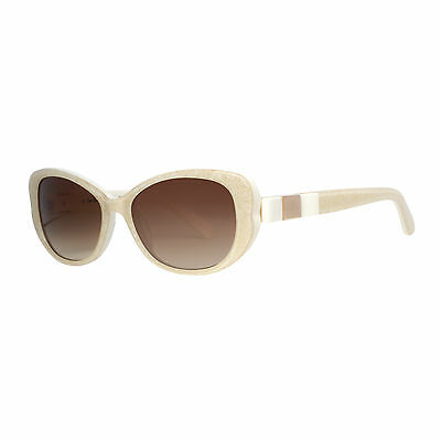 Kate Spade Chandra/S X57 Y6 Glitter Ivory/Beige Women's Cat eye Sunglasses