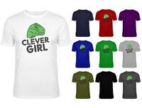 Mens Clever Girl Raptor Jurassic Park Dino Meme Funny T-shirt NEW S-XXL