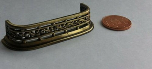 casa de muñecas en miniatura Reino Unido chimenea Antiguo Fender escala 1//12
