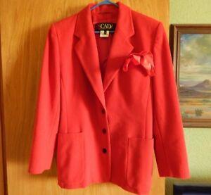 Ley Blazer Margaretha Pure Vintage En Par Veste Escada Vntg Laine Archival Ex Cond TEqIwtzx