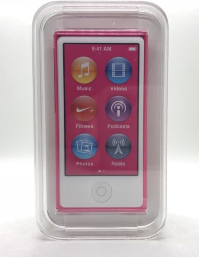 1 von 1 - Apple iPod nano 7. Generation 7G (16GB) Rosa Pink NEU NEW