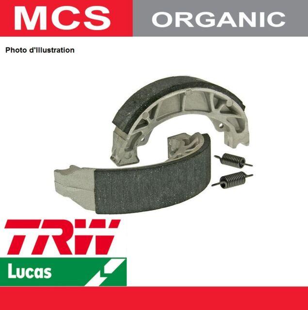 4V4 Mâchoires de frein Arrière TRW Lucas MCS 955 pour Yamaha YZ 465 81