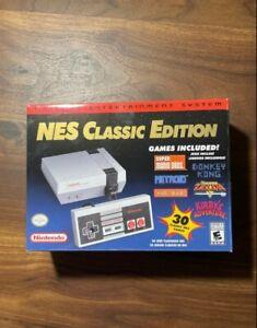 Original Nintendo NES Classic Edition Mini Game Console New & Warranty Included