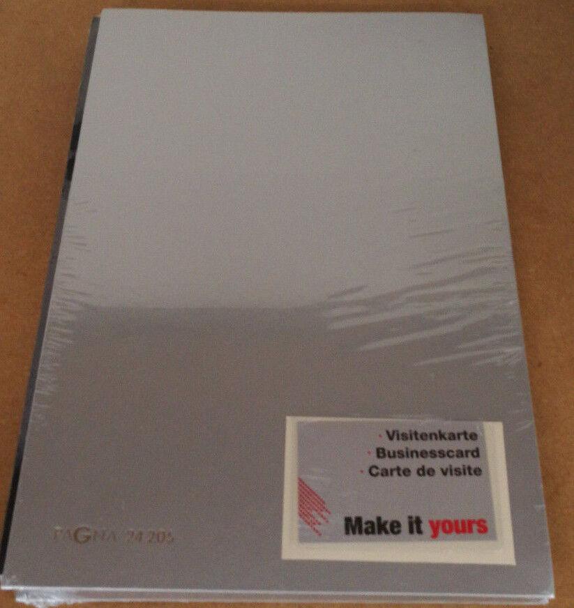 PAGNA Unterschriftenmappe Color schwarz DIN A4 20 Fächer