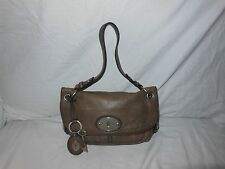 Fossil gray leather purse