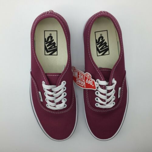Vans Hombre Rosa Zapatos mujer Blancas Seco auténtico rrwqnga76