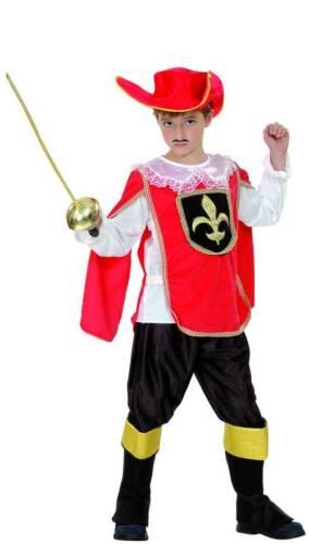 Musketier-Kostüm Jungen Cod.226195