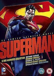 Superman-5-Film-Animato-Collection-DVD-Nuovo-DVD-1000397520