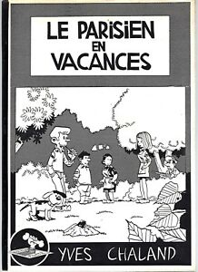 CHALAND-BOB-FISH-LE-PARISIEN-EN-VACANCES-RARISSIME-EO-EXCELLENT-ETAT