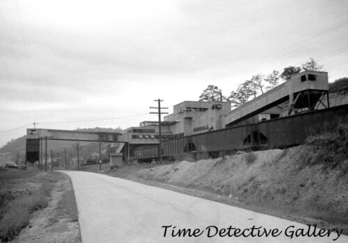 Scotts Run West Virginia Historic Photo Print 1938 Coal Mine Tipple