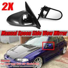 JDM Real Carbon Fiber Instrument Cluster Bezel Fit For 1992-1995 Honda Civic EG